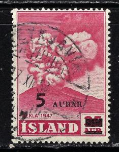 Iceland 283 Used 1954 Issue