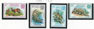 Swaziland  mnh sc. 370 - 373