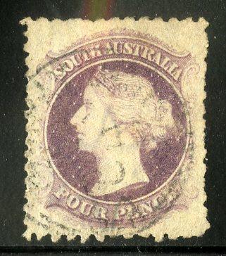 SOUTH AUSTRALIA 68a USED SCV $8.00 BIN $3.25 ROYALTY