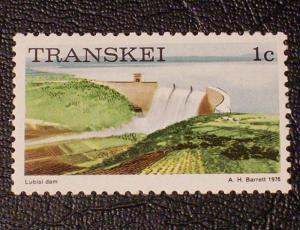 South Africa - Transkei Scott #5 unused