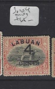 LABUAN (PP1409B)  4C/8C    BOAT   SG 104   MOG