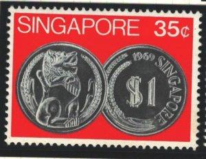 Singapore Sc#151 MVLH