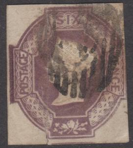 Great Britain Sc#7 Used Tear at Bottom