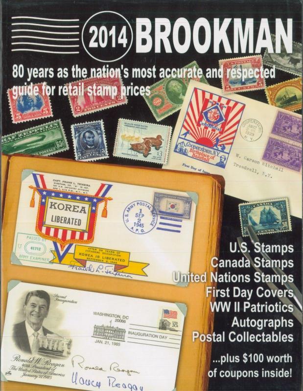 2014 Brookman US Canada UN Stamps Covers Autographs Retail