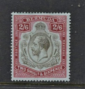 STAMP STATION PERTH Bermuda #50 KGV MLH -OG No faults VF Wmk.3 CV$38.00 - Beauty