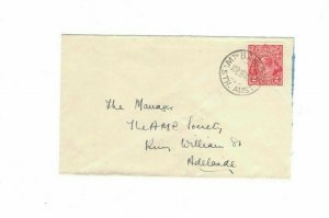APH1454) Australia 1930 2d Red KGV Die I Small Cover