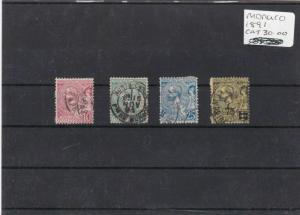 MONACO STAMPS  FROM 1891  CAT £30+. REF 1757