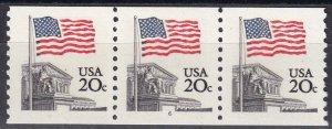 US #1895a  MNH Plate Strip Of 3  CV $7.50 (Z6123)