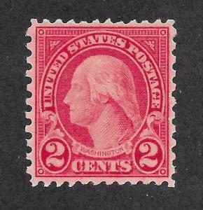 579 MNH 2c. Washington, 11 X10  Perfs,  FREE SHIPPING