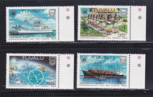 Tuvalu 196-199 Set MNH Commonwealth Day (B)