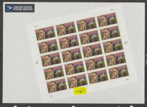 U.S. Scott #3134 Thornton Wilder - USPS Package - LL Plate Highlighted in Scan