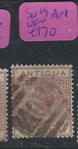 ANTIGUA   (PP0807B)  QV  21/2D  SG 19 AO1     VFU