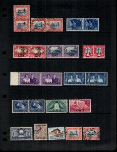 South West Africa  14 different used and MNH
