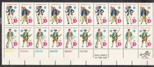 UNITED STATES 1568a PB MNH BLOCK OF 20  2019 SCOTT SPECIALIZED CAT VALUE $4.50