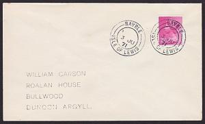 GB SCOTLAND 1971 cover BAYBLE / ISLE OF LEWIS cds..........................7420