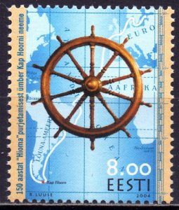 Estonia. 2004. 480. 150 years of travel past Cape Horn. MNH.