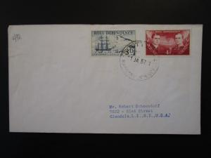 Ross Dependency 1957 Cover to USA - Z6131