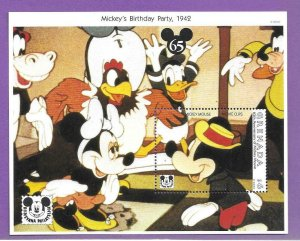 1993  GRENADA  -  SG.  MS  2626A  - DISNEY - MICKEY'S BIRTHDAY  -  MNH