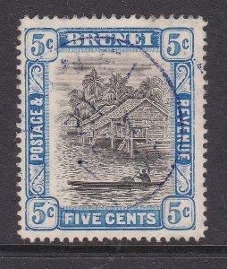 BRUNEI ^^^^^^^1907   RARER  sc# 21 used KEY    $110.00 @cam3311bru