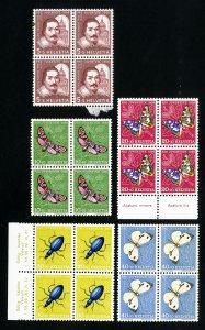 Switzerland Stamps # B257-31 VF Block 4 OG NH Scott Value $30.00