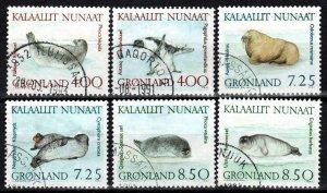 Greenland #233-8 F-VF Used CV $15.50 (X414)