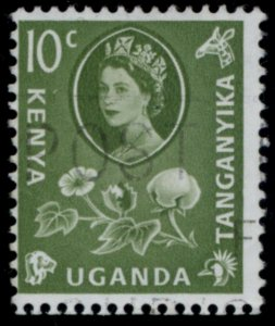 1960 KENYA, UGANDA and TANGANYIKA SC#121 USED