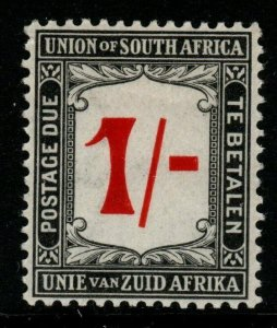SOUTH AFRICA SGD7 1915 1/= RED & BLACK POSTAGE DUE MTD MINT