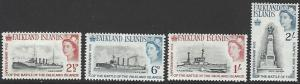 Falkland Islands #150-153 MNH Full Set of 4 cv $11.65