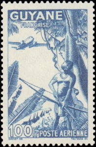 French Guiana #C8C, Incomplete Set, 1941-1944, Never Hinged