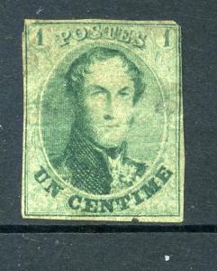 Belgium #9 Used CV $125