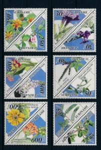 [SU832] Suriname Surinam 1995 Medical plants Triangles  MNH