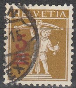 Switzerland #194 F-VF Used  CV $4.50  (D2033)