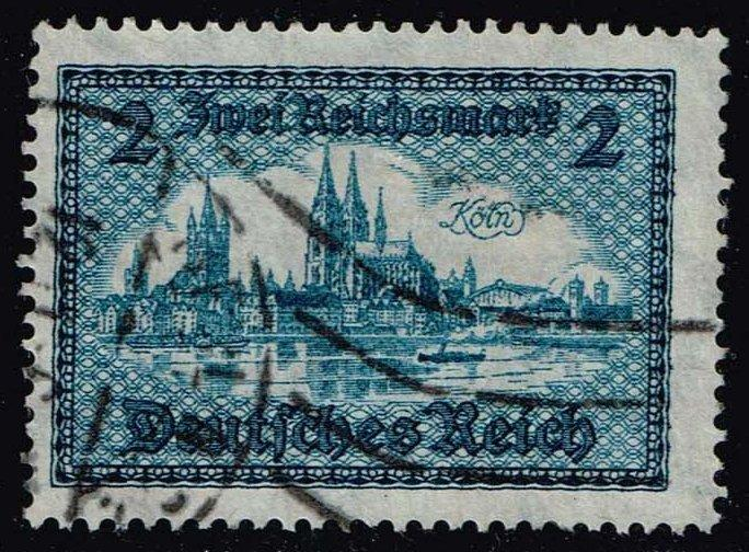 Germany #387 View of Cologne; Used (15.00)
