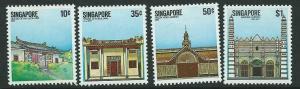 SINGAPORE SG471/4 1984 NATIONAL  MONUMENTS  MNH