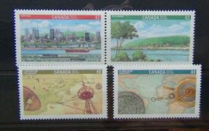 Canada 1992 Canada 92 International Youth Stamp Exhibition Montreal set MNH