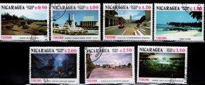 Nicaragua 1982 SC# 1177-1181; C1024-C1025 (3)