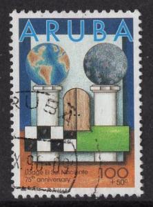 Aruba   #B44   used  1996  solidarity  100c