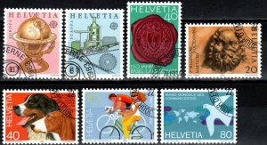 Switzerland #737-43 F-VF Used  CV $3.90 (X1742)
