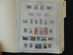 Italy 1951-1958 Stamp Collection on Album Pages