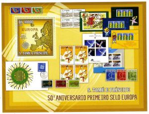 Sao Tome & Principe 2006 Europa 50th.Anniversary s/s Perforated mnh.vf