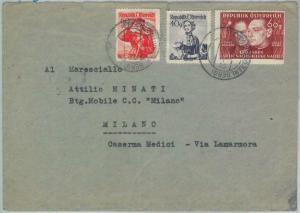 82845 -  AUSTRIA  - POSTAL HISTORY -  COVER: MUSIC   1949