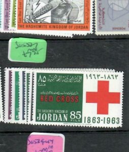 JORDAN  (PP0210B) RED CROSS  SG 52-7     MNH