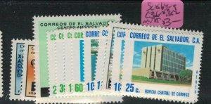 El Salvador SC 864-9, C366-8, 382, MNH (8ecq)