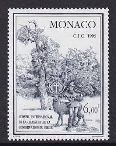 Monaco  #1949    MNH  1995  wildlife conservation