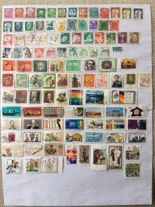 German 100+ stamps - Lot 16