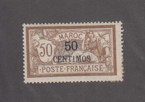 French Morocco Scott #20 MH Note
