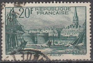 France #347  F-VF Used  CV $19.00  (S8508)