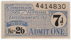(I.B) Australia Revenue : Entertainments Tax 7d