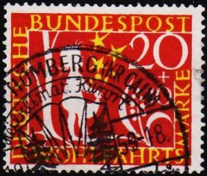 Germany. 1959 20pf+10pf S.G.1238 Fine Used