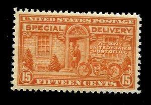 US 1922 Sc# E 16 - 15 c Special Delivery - Mint NH - Vivid  Color - GEM